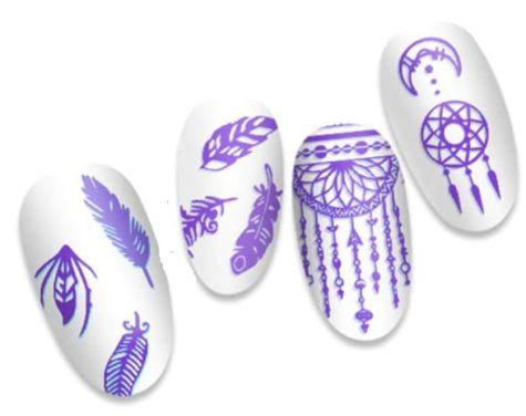 Plaque stamping mandala