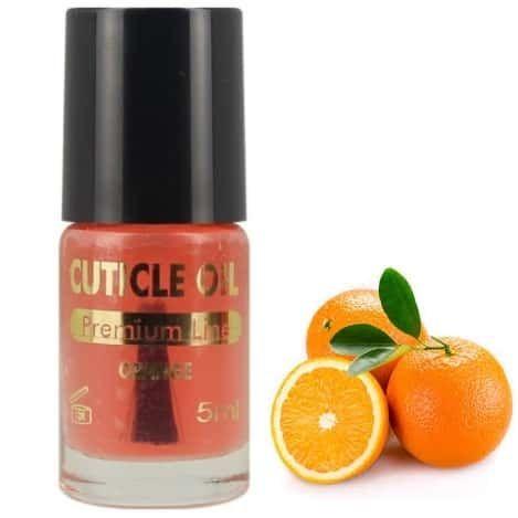 Huile orange soin pour les mains