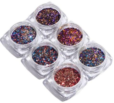 Lot de nail art  mix holographique
