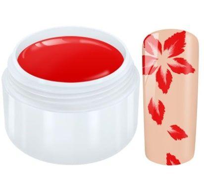 gel paint rouge