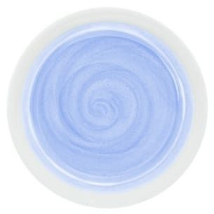 gel metallic pastel bleu
