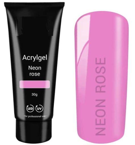 polygel rose fluo