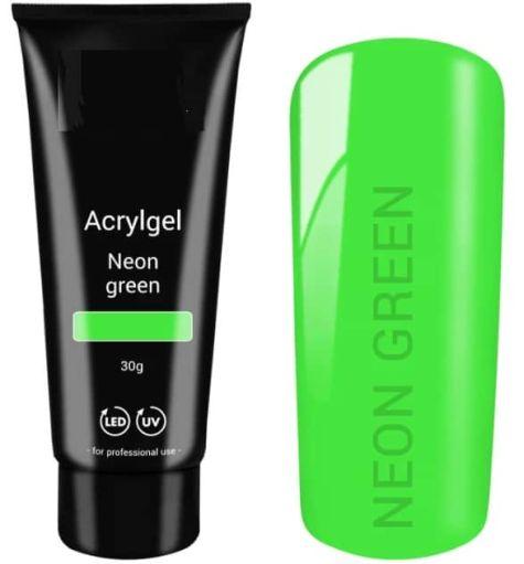 polygel vert fluo