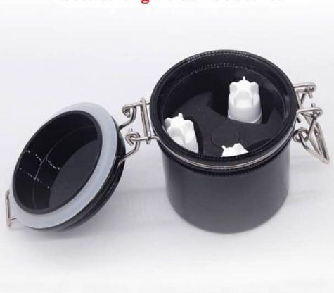 pot pour conserver la colle cils
