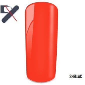 shellac rouge orangé