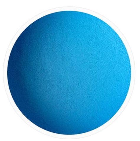 Résine bleu