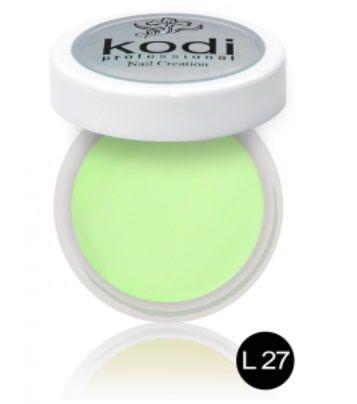 Resine vert pastel