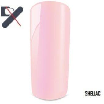 shellac rose perlé