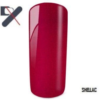 shellac rouge perlé
