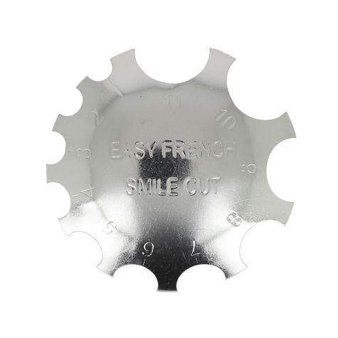 Outil de découpe french pour résine acrylique SMILE CUT