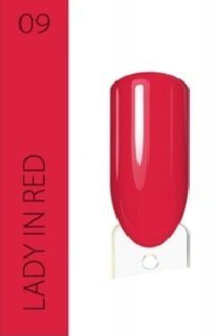 vernis rouge vif