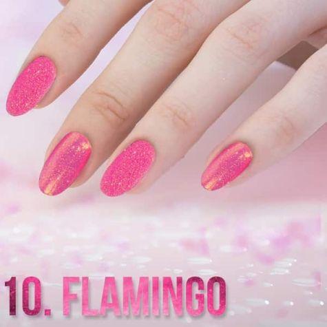 PAILLETTE effet quartz flamingo