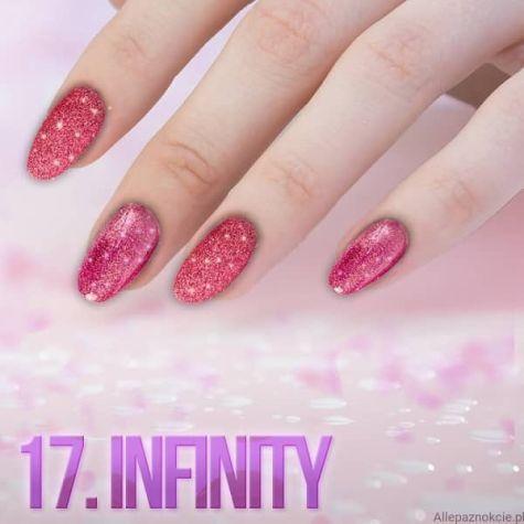 Nail art Infinity Effet quartz
