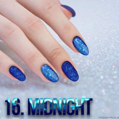 Nail art Midnight Effet quartz