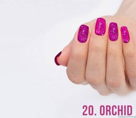 Nail art Orchid Effet quartz