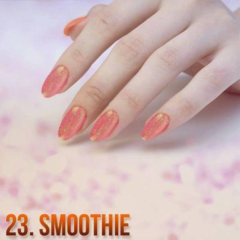 Smoothie Nail art Effet quartz