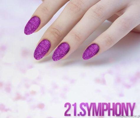 Nail art Symphony Effet quartz
