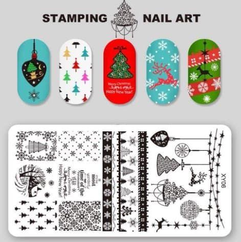 Plaque de stamping pour noel