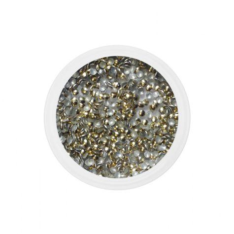Strass metal dorés 1.5 mm