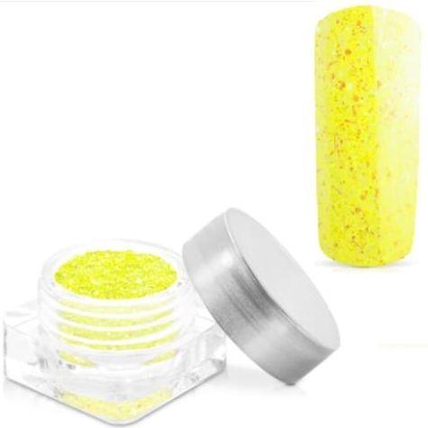 glitter yellow