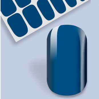vernis adhésif bleu