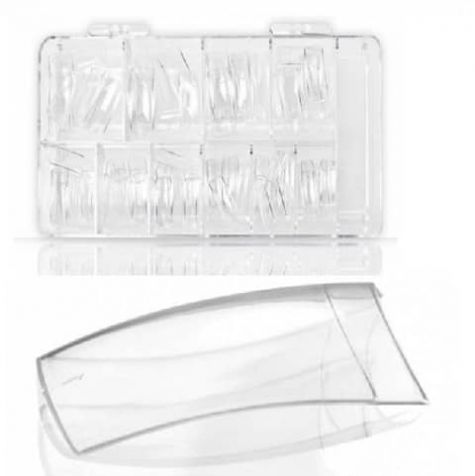 capsule transparente encoche courte