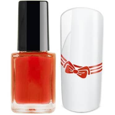 Vernis rose orange