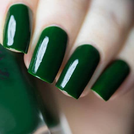 nail warp vert foncé