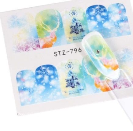 water decal hivernal