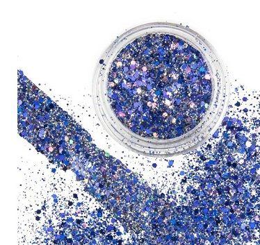 mix blue gold glimmer