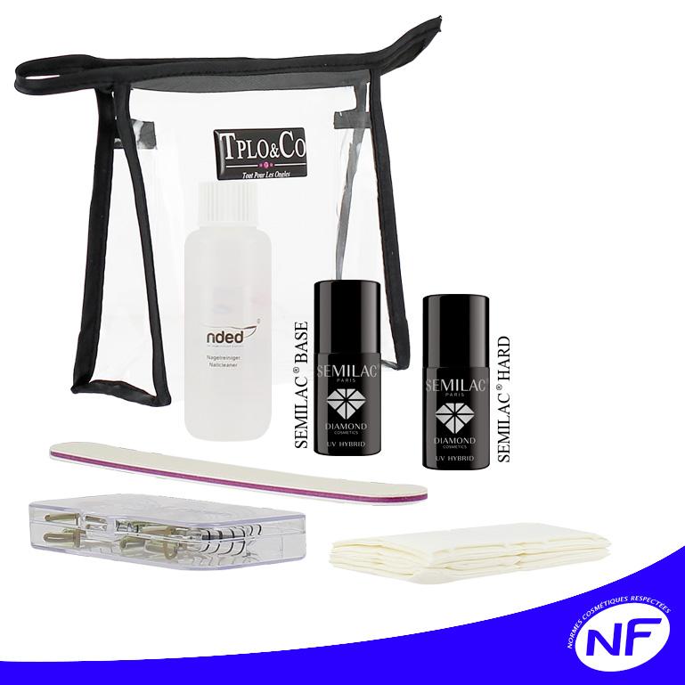Kit de gel UV ou LED pour extension ou réparation des ongles