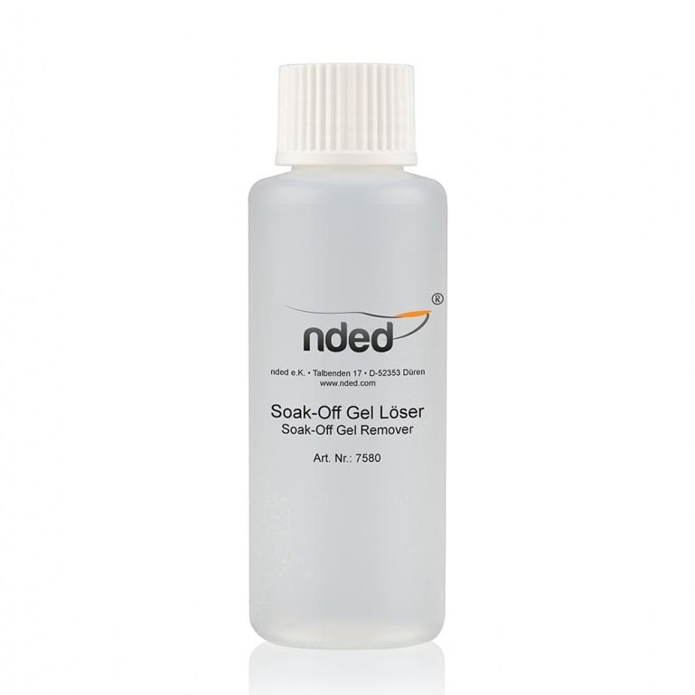 Dissolvant pour gel soak off et résine acrylique