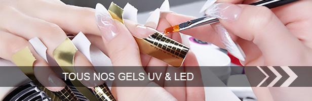 Tous nos GELS UV et LED