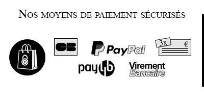 Nos moyens de paiement