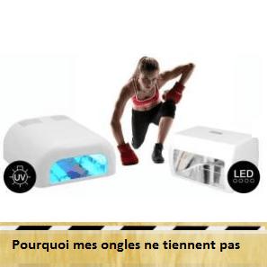 lampe UV ou lampe LED