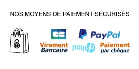 Tous nos modes de paiements