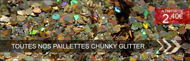 chuncky glitter