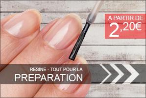 préparation des faux ongles