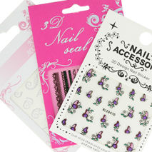 stickers nail art