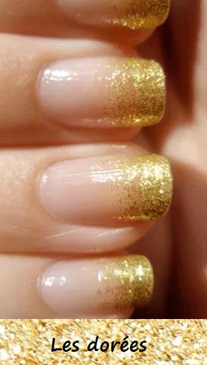 les paillettes dorées