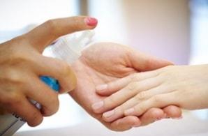 désinfecter les mains