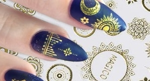 stickers ongle nail art magico