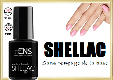 vernis semi-permanent shellac