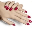 les vernis semi-permanents rouge